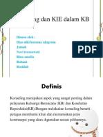 Konseling Dan KIE Dalam KB PP