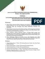 kep-men-hut-2000-63-tata hubungan kerja instansi kehutanan dan perkebunan di wilayah dengan unit perum perhutani