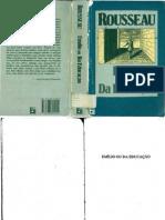 Emílio ou da Educação_Rousseau
