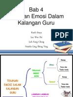 Bab 4 Tekanan Emosi Dalam Kalangan Guru