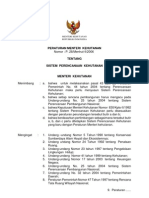 per-men-hut-2006-28-sistem-perencanaan-kehutanan