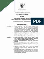 per-men-hut-2008-09-persyaratan kelompok tani hutan untuk mendapatkan pinjaman dana bergulir pembangunan hutan tanaman rakyat