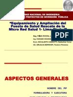 Ponencia Perfil Salud