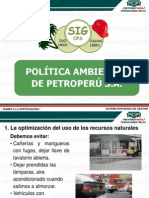 Charla Nº 05 Politica Ambiental (Todo Personal)