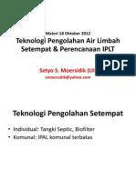 Teknologi IPAL Setempat Dan IPLT