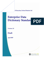 EDM-EnterpriseDataDictionaryStandards