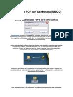 Desbloquear PDF con Contraseña