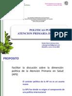Atencion Primaria y Politicas Publicas