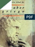 Diccionario Akal de El Saber Griego Di Jacques Brunschwig-Geoffrey Lloyd