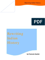 Rewriting Indian History by F Gautier