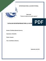 Catalogo Estrategias Tutoriales Elia Maria