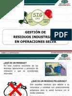 Charla Nº 07 Gestión de Residuos Industriales en OPS (Todo Personal)