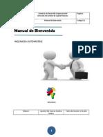 Manual de Bienvenida Con Indice