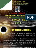 CINETICA DE UNA PARTÍCULA