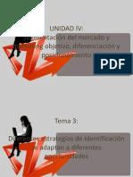 Diferentes estrategias de identificación se adaptan a diferentes oportunidades