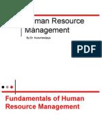 Materi Manajemen Sumber Daya Manusia