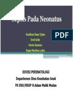 Ka .172 Slide Sepsis Pada Neonatus