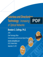 JDSU Colouless Directionless Containtionless