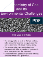 Chemistry of Coal and Its Environmental Challenges