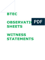05 Observation Records and Witness Statements
