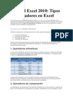 Tutorial Excel 2010