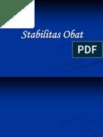 Stabilitas Obat l