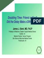 PPT Tumor Doubling Time Bagus