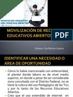MOVILIZACIÓN DE RECURSOS EDUCATIVOS ABIERTOS