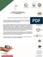 Full Speech by Dato' Dr. Raja Mohammad Abdullah