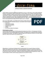 FSAE Damper Guide- Jim Kasprzak Kaz Tech Tip