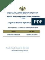 Ulasan Karya Kajian PPIP