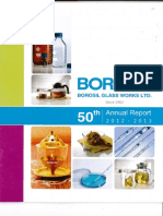 Borosil Glass Works Ltd. Annual Report 2013