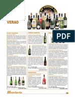 Guia de vinhos de verão