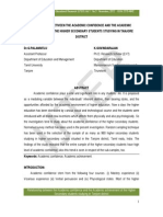 1academic Confidence Paper for Govindarajan
