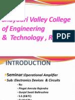 seminar operational amplifier final.pptx