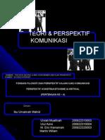 Power Point Presentasi Konstruksivisme Dan Kritikal