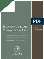 Saykh al-Akbar Ibn 'Arabī brief biography