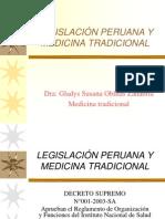 LEGISLACIÓN PERUANA Y MEDICINA TRADICIONAL.ppt
