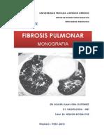 Monografia Fibrosis Pumonar