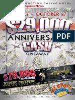 Jackpot Junction Casino Hotel October Newsletter