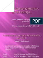 ESPECTROFOTOMETRIA INFRARROJA