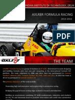 AXLR8R Sponsorship Proposal