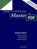 First Certificate Masterclass Teachers Book