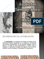 Aspectos Demograficos de Mexico