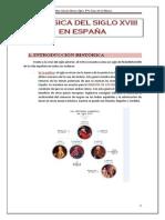 LA MÚSICA DEL SIGLO XVIII EN ESPAÑA