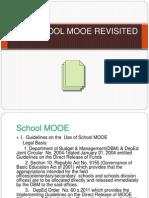 School Mooe Revisited