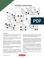 Conductivity in Power Plants