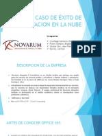 CASO DE ÉXITO DE IMPLEMENTACION EN LA NUBE