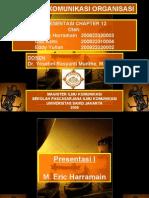 Presentasi Pilihan Karir Komunikasi Organisasi oleh M. Eric Harramain