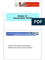 CCNA2 M10 Intermediate TCPIP